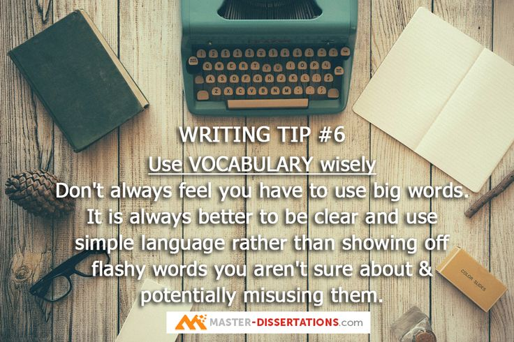 """Tip#6: """"Don't use a five-dollar word when a fifty-cent word will do.""""  ― Mark Twain #academicwriting #writingtips"""