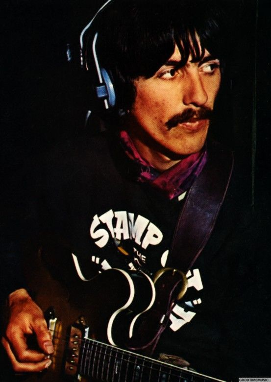 1967 wearing his Stamp out The Beatles sweatshirt