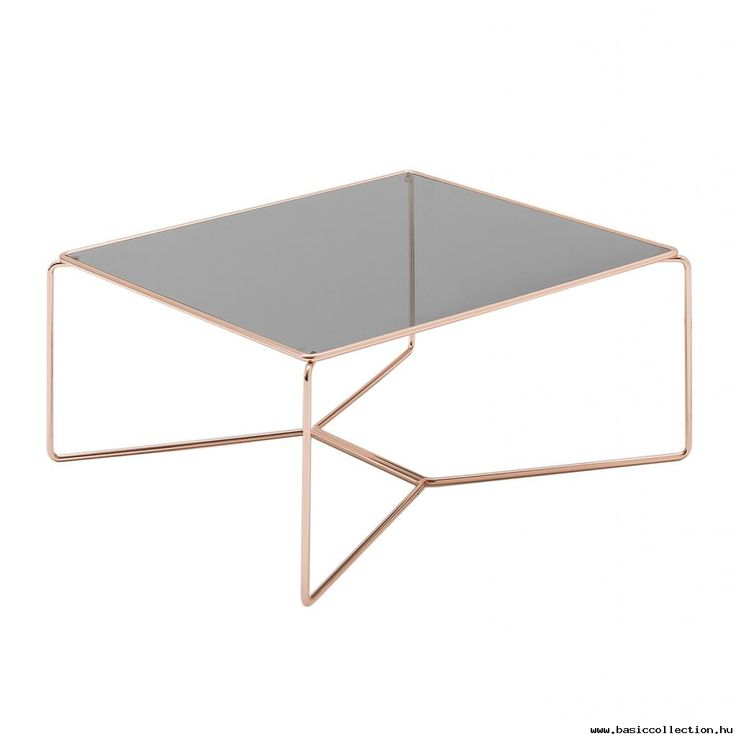 Marcel coffee table #basiccollection #coffee #table #glass #gold #furniture