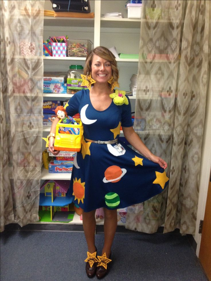 elementary school costume from magic school bus - Funny Character Halloween Costumes