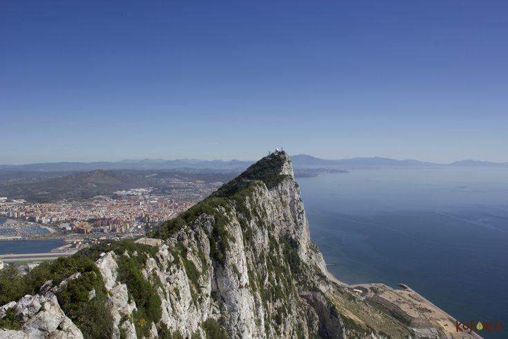 Il panorama della rocca di Gibilterra http://www.korowaihouse.com/2014/05/andalusia/