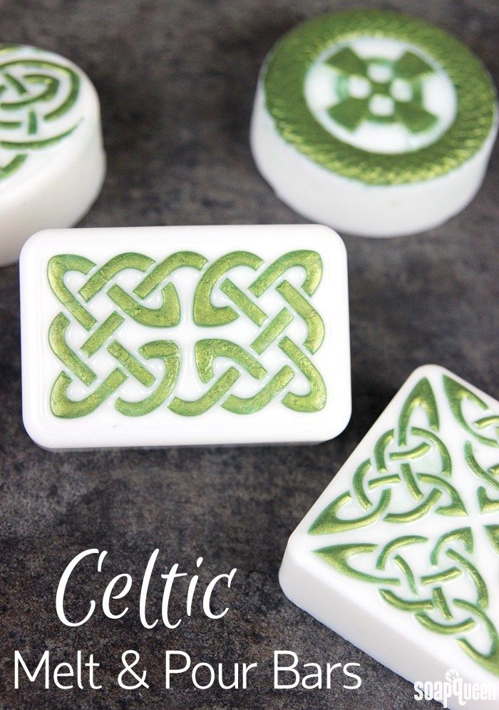 Celtic Melt and Pour Soap Tutorial