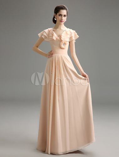 1000  ideas about Chiffon Evening Dresses on Pinterest - Elegant ...