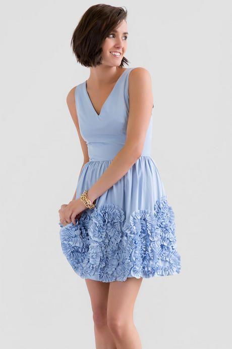 Johanna Ruffle Dress $88 - Francesca's
