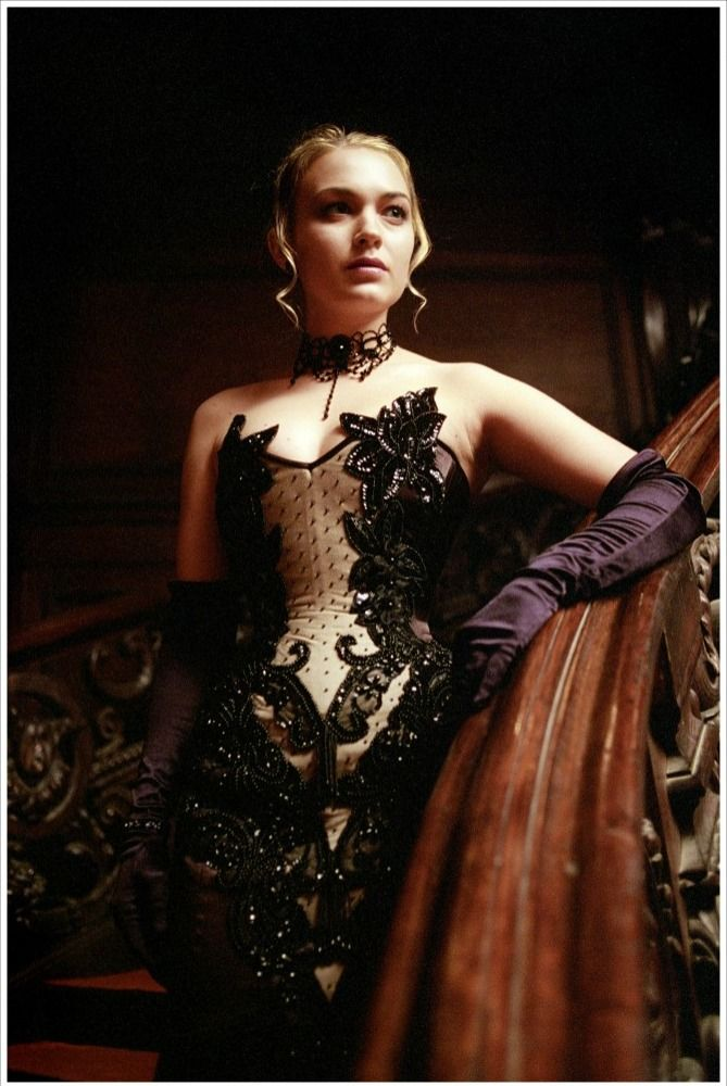 i love this dress. Erika from Underworld.
