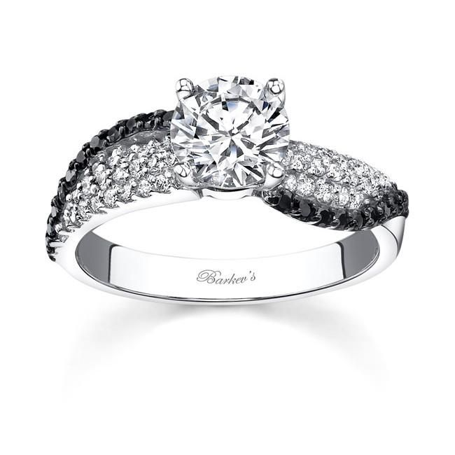 Black Diamond Engagement Rings Under 500 Dollars 29