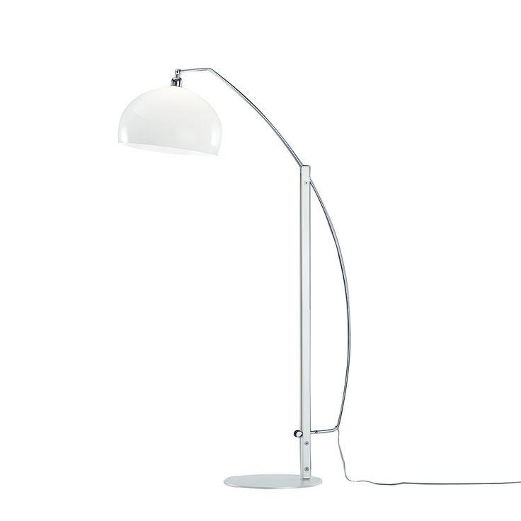 EEK A++, Stehleuchte DORO 1-flammig - Metall/Webstoff - Weiß, Helestra Jetzt bestellen unter: https://moebel.ladendirekt.de/lampen/stehlampen/standleuchten/?uid=c31dbd57-2402-5880-80f2-d906cf4e5075&utm_source=pinterest&utm_medium=pin&utm_campaign=boards #stehlampen #leuchten #lampen #stehleuchten #innenleuchten #helestra