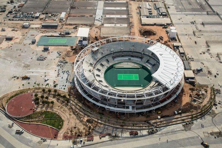 Prefeitura do Rio assume dívida de construtora com operários do Centro de Tênis | Foto: Renato Sette Câmara/Prefeitura do Rio