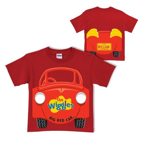 The Wiggles Big Red Car Red T-Shirt - Clothing
