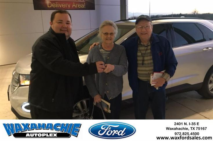 Waxahachie Ford Customer Review  Eric is a fine young man and helped us get into the car we wanted.  Thanks to all the rest of the folks too at Waxahachie Ford.  Robert, https://deliverymaxx.com/DealerReviews.aspx?DealerCode=E749&ReviewId=68181  #Review #DeliveryMAXX #WaxahachieFord