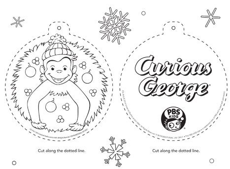 PBS KIDS Holiday Coloring Pages & Printables . Happy Holidays ...