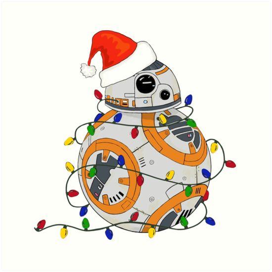 Weihnachten für Star Wars-Fans. Mehr weihnachtliche Designs findest du bei uns im Shop!