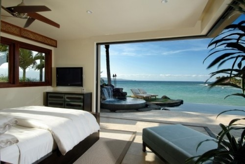 Torn between wanting a cabin in the woods somewhere or a beautiful ocean view like this: Dreams Bedrooms, Idea, Dreams Houses, Tropical Bedrooms, Bedrooms Design, Master Bedrooms, Beaches Houses, Ocean View, Modern Bedrooms