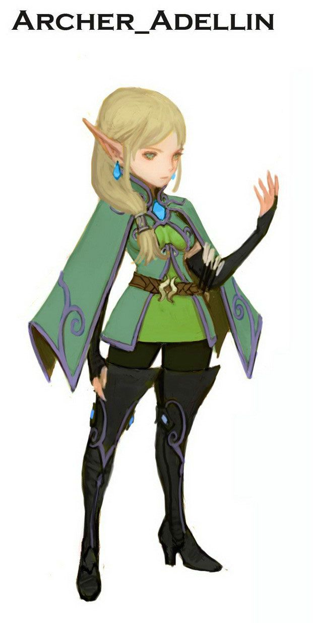 Dragon Nest Concept Art