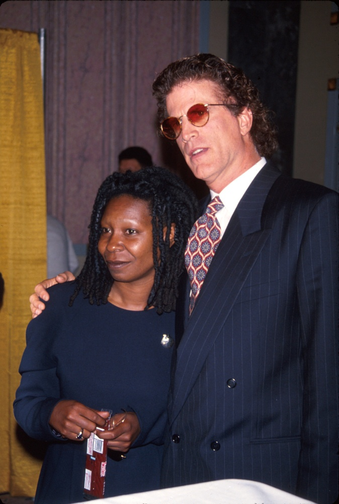 1992-then couple, Ted Danson and Whoopie Goldberg