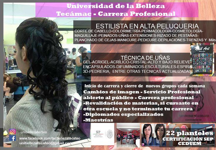 Escuela de belleza SEP Tecámac y Teotihuacán  4