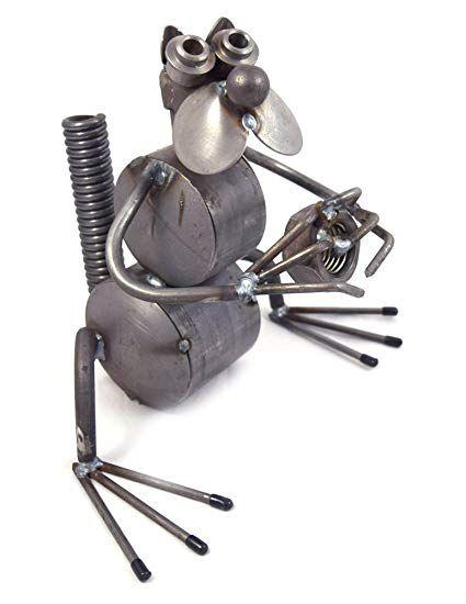 Nutty Squirrel - Recycled Metal Garden Sculpture Review Outdoor