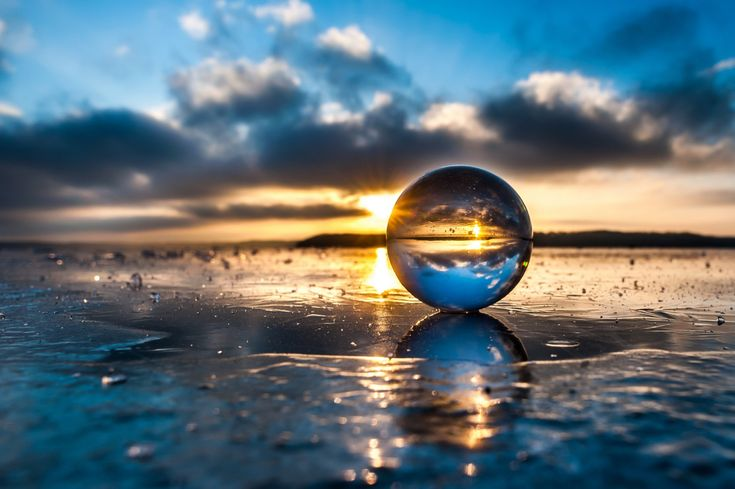 clear glass ball - Google Search