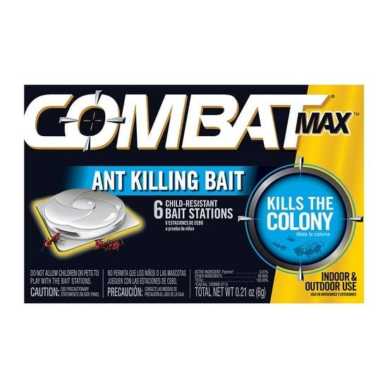 Combat 55901 Quick Kill Ant Bait, 6 Pack, Gardening