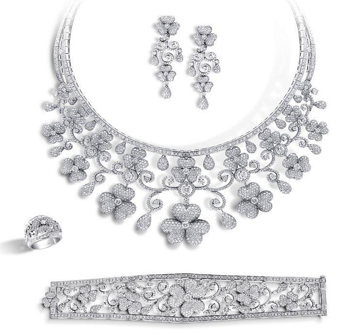304 best DIAMONDS Sets images on Pinterest Diamond necklaces