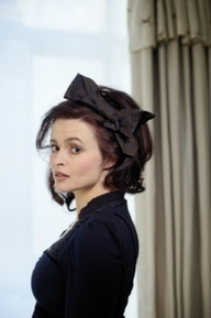 Helena Bonham Carter. How can people not love her? She is literally my favorite actress ever and is a great role model. And her style is so crazy and I love it and it is awesome that she could care less about what people think of her and her 'fashion statements.'