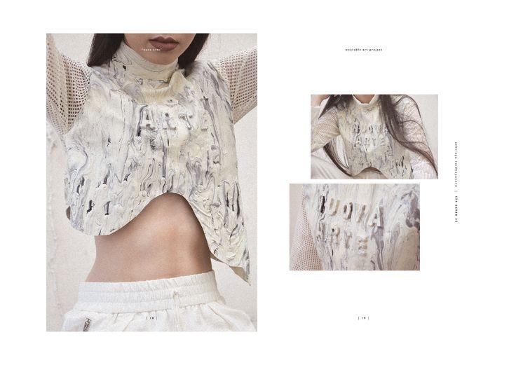 """NUOVA ARTE"" Spring/Summer 2017 Collection Wearable Art Project by Designer: Achiraya Vaidhayakarn | Photographer: Achiraya Vaidhayakarn | Model: Krittiya Vaidhayakarn | Assistant: Suthina Pruksaphan"