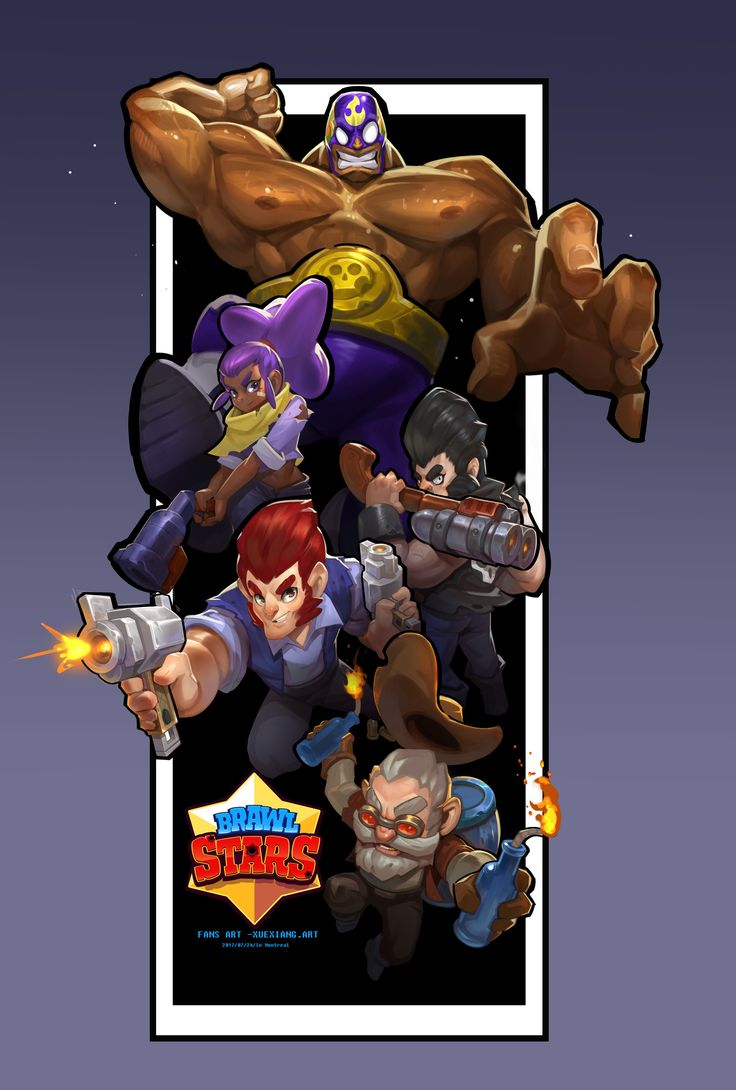 Image Result For Brawl Stars Concept Art Characters In 2019