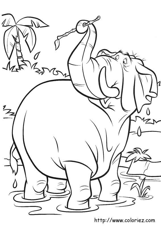 Thank You For Visiting Elephant At The Pond Colouring Picture We Hope This Post Inspired And Help What Are Looking