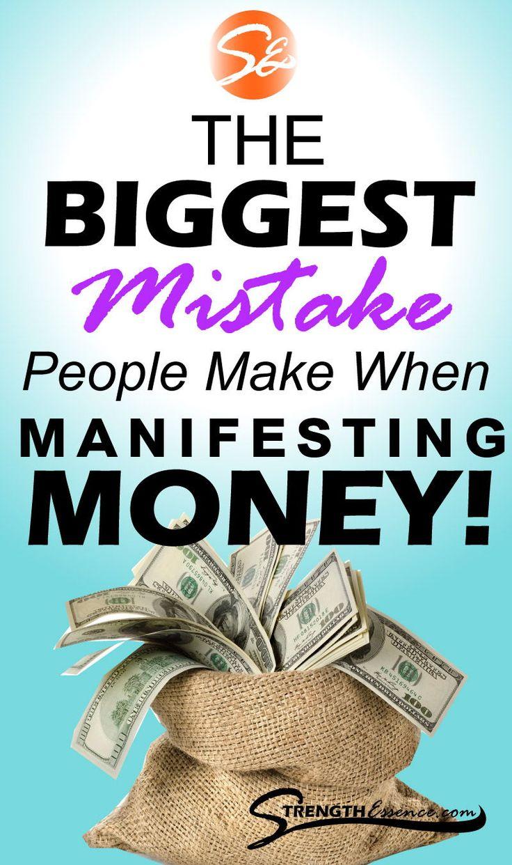 Manifest Money Fast! THE BIGGEST Mistake People Make