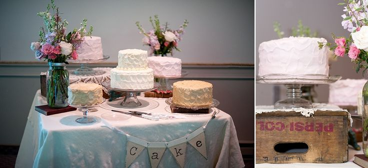 Cake Table Ideas For Weddings : Vintage, wedding cake table Wedding ideas Pinterest