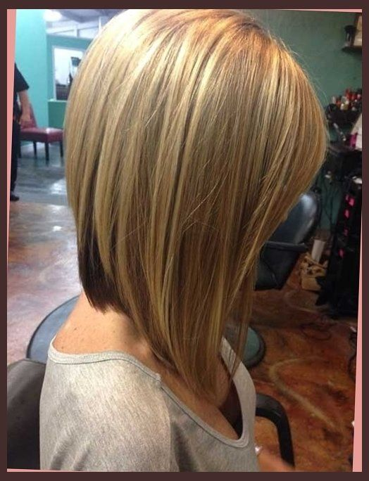 pictures of long layered angled bob haircuts | Proper ...