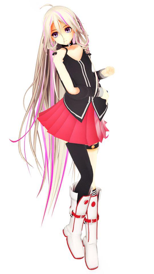 Vocaloid ia mmd cute whore - 2 10