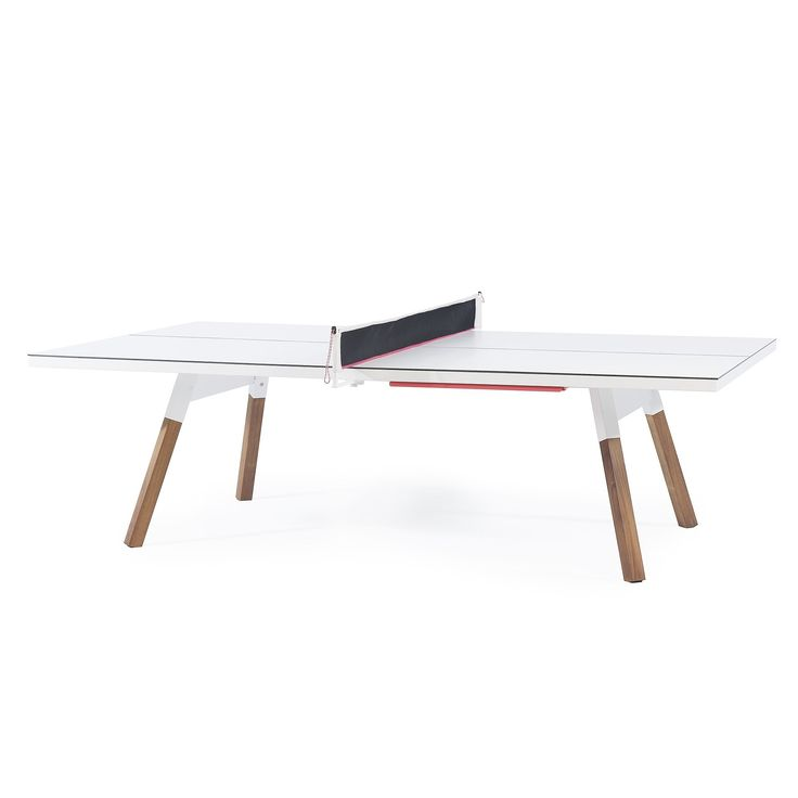 CONVERTABLE YOU AND ME PING PONG TABLE - Contemporary Game Tables - Dering Hall