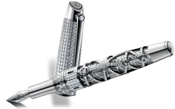 couture+fountain+pen+images | Caran d'Ache 1010 Diamonds Limited Edition Fountain Pen