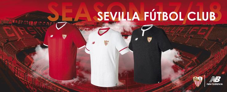 Camisas do Sevilla FC 2017-2018 New Balance
