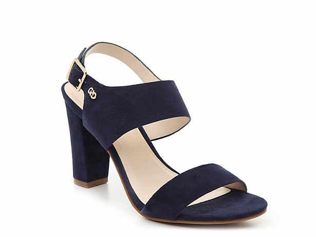 block heels   DSW   Navy wedding shoes