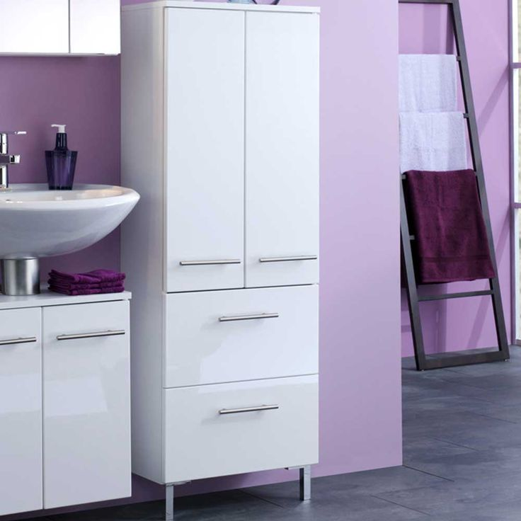 Badschrank In Weiß 50 Cm Breit Jetzt Bestellen Unter: Https://moebel.