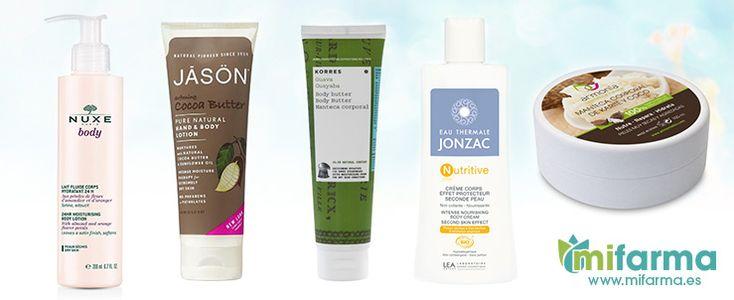Las 5 mejores cremas corporales de cosmética natural..