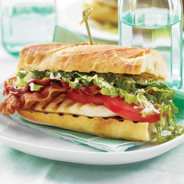 Skip the croutons and try this Chicken Caesar Sandwich #recipe.