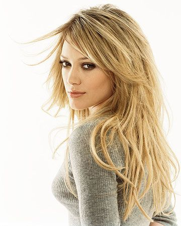 Hilary Duff hair color