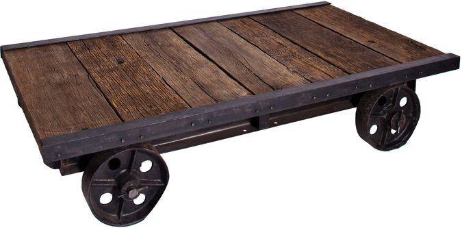Delightful Trolley Coffee Table | Furniture | Pinterest