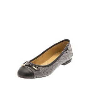 wool felt shoes-- Women's Ballet Flats