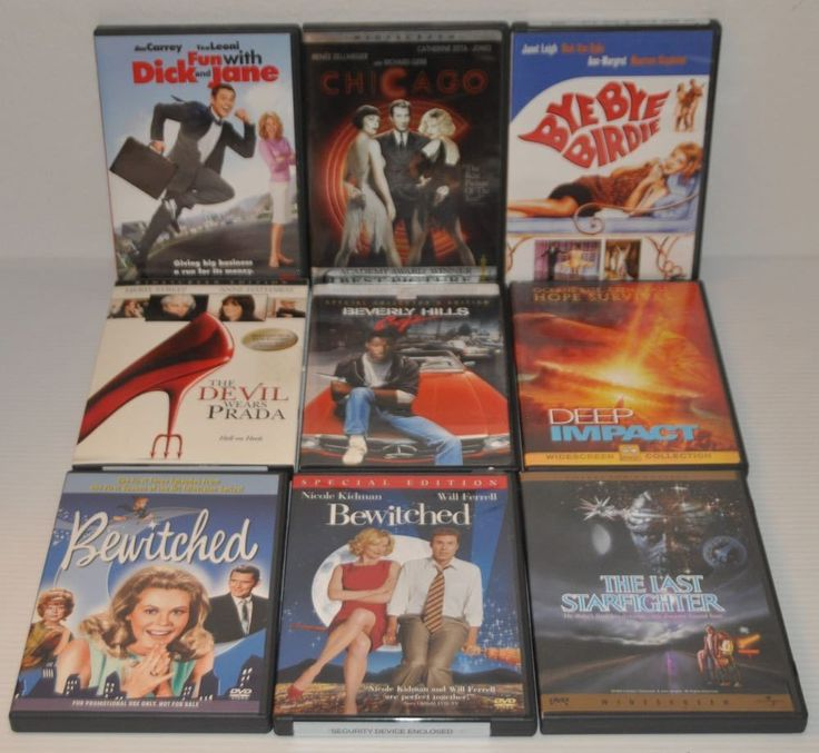 Lot of 9 DVD's (Lot #1) See photos for titles.
