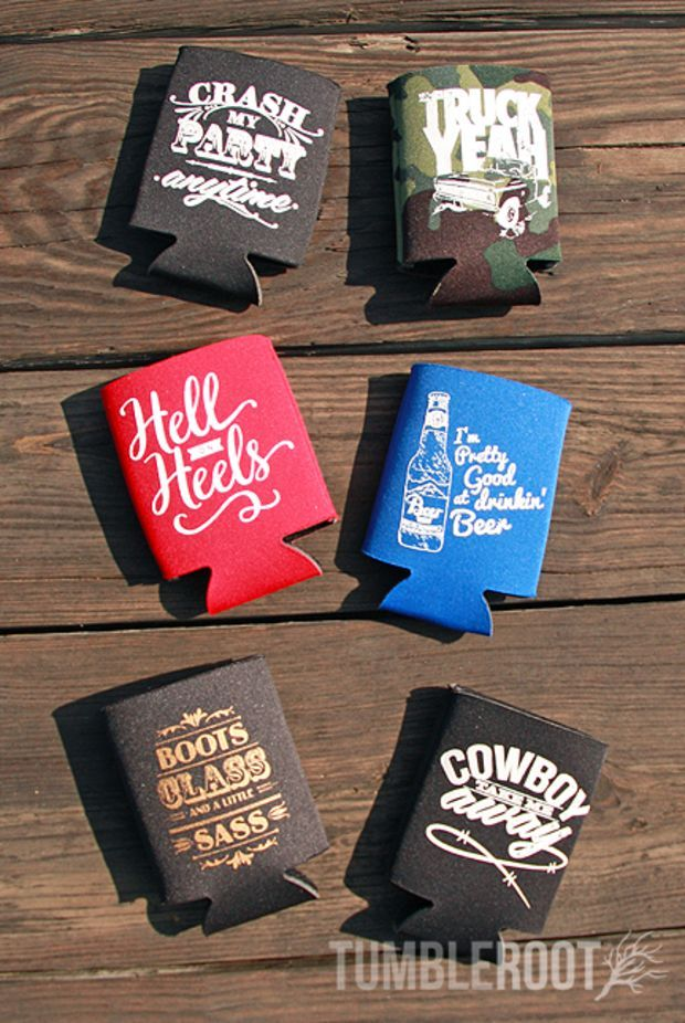 Koozies Assorted Designs Design And Ps