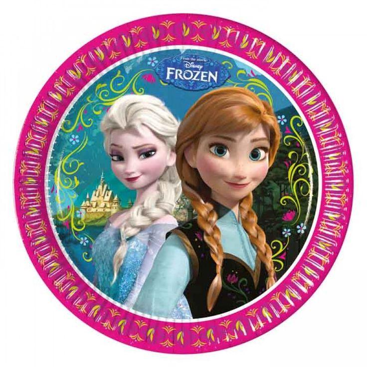 Disney Frozen Bordjes (8st)
