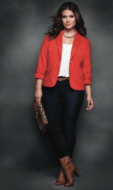 http://comoorganizarlacasa.com/en/plus-size-blazer-outfit/ Plus size blazer…