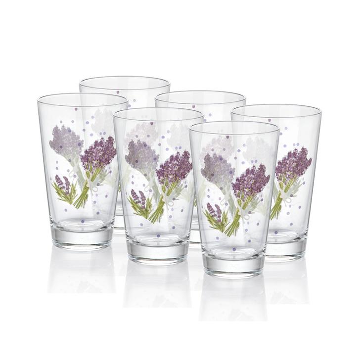 Lavender 6'lı Meşrubat Bardağı / 6 Cups Of Soft Drinks #bernardo #kitchen #mutfak #tabledesign