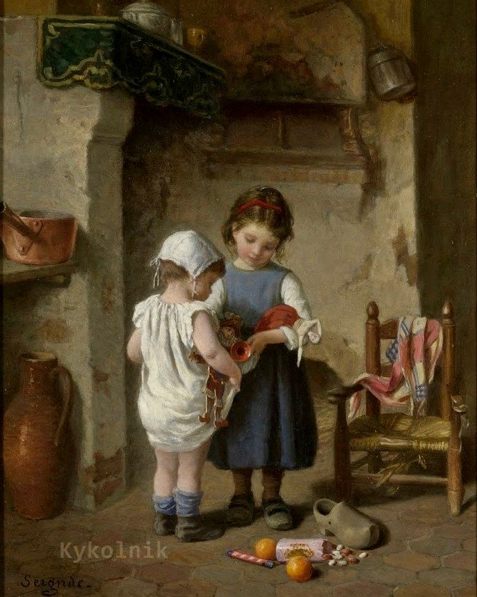 Paul seignac art children pinterest for Paintings of toddlers