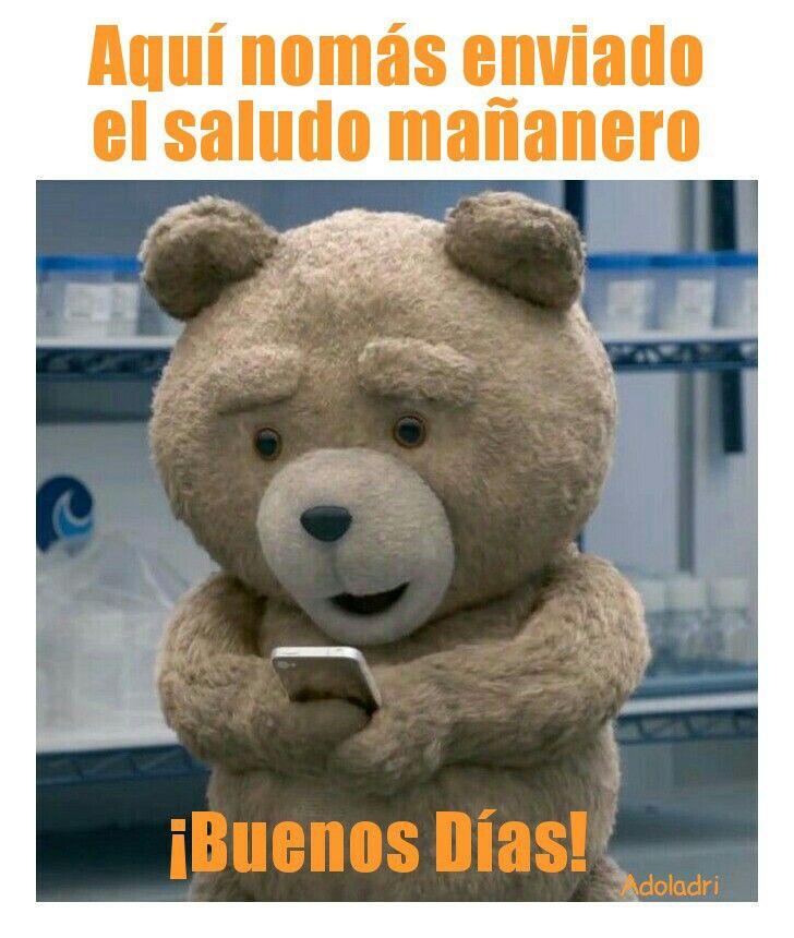 Pin By Lone Wolf On Memes De Buenos Dias Ted Bear Movie Teddy Bear Wallpaper Ted Bear