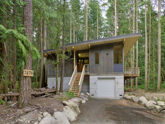 21 best cabin design images on pinterest manufactured for Prefab lake homes